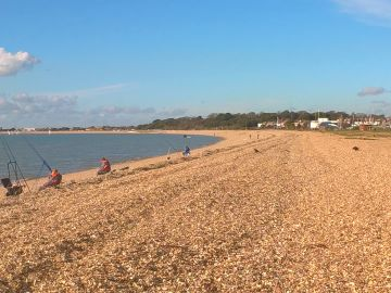 Picturesque Stokes Bay, Alverstoke. A pebble's throw from our Seaside Cat Hotel. Wonderful sea air and beautiful views.